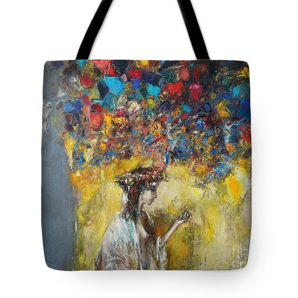 The Coming Of Spring Tote Bag