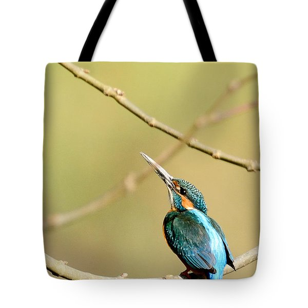 The Common Kingfisher Tote Bag