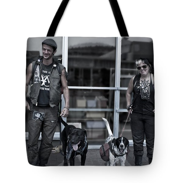 Tote Bag featuring the photograph The Conners by Sandi Mikuse