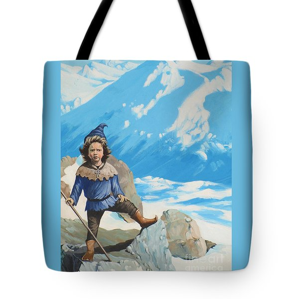 The Conquerer. Tote Bag by Vivien Rhyan