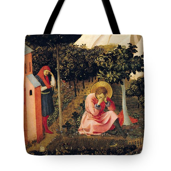 The Conversion Of Saint Augustine Tote Bag