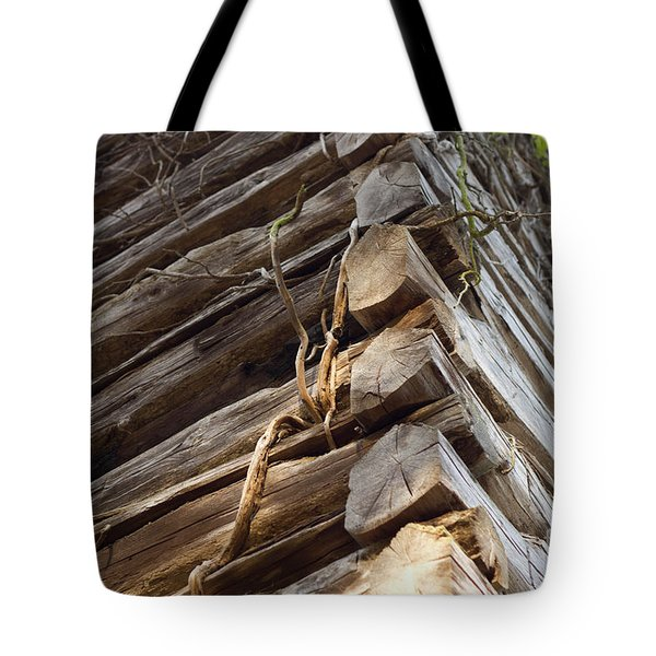 Tote Bag featuring the photograph The Corner by Amber Kresge