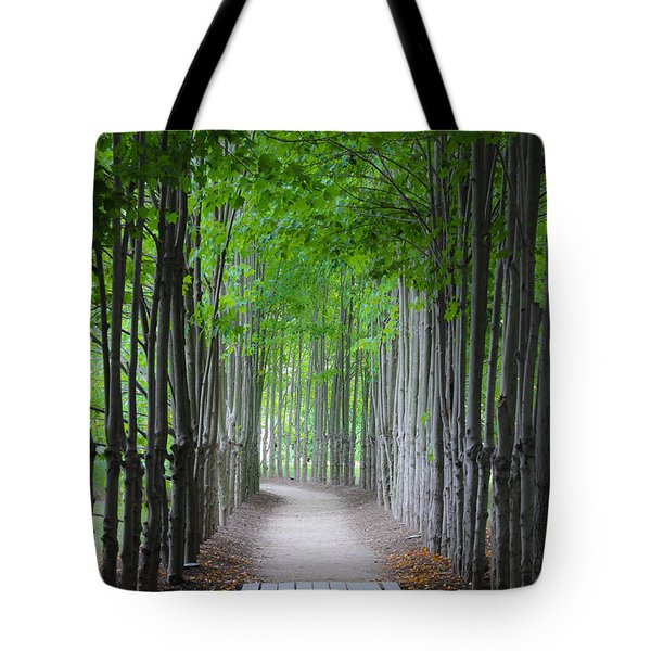 The Corridor Tote Bag by Eduard Moldoveanu