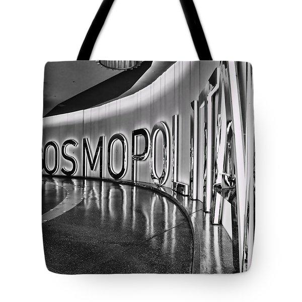The Cosmopolitan Hotel Las Vegas By Diana Sainz Tote Bag