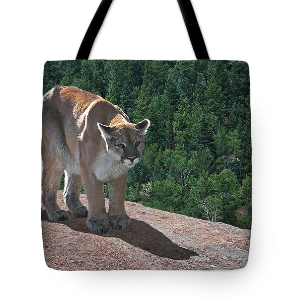 The Cougar 1 Tote Bag by Ernie Echols