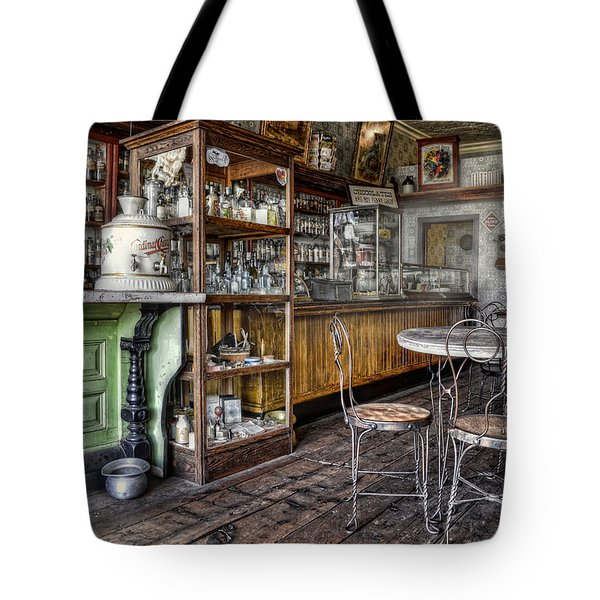 The Counter Tote Bag by Ken Smith