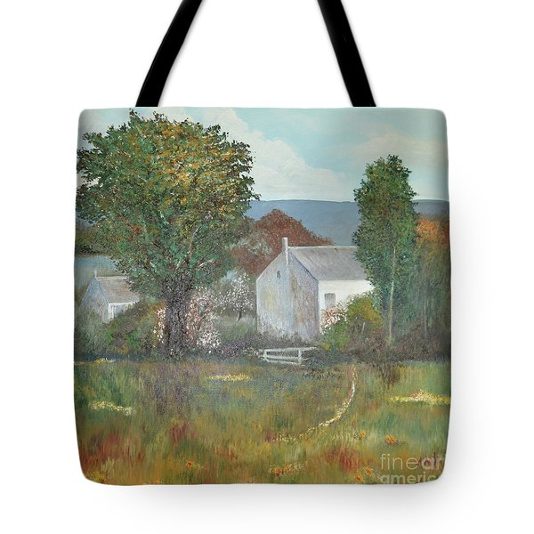 The Country House Tote Bag