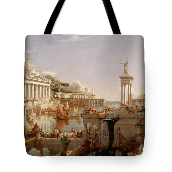 The Course Of Empire Consummation  Tote Bag