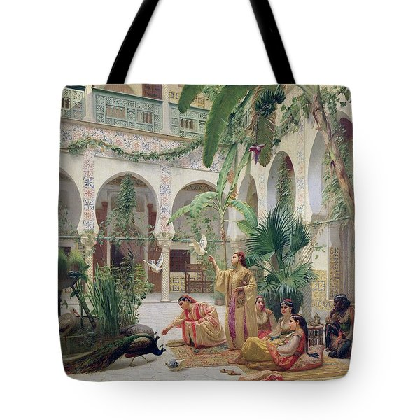 The Court Of The Harem Tote Bag