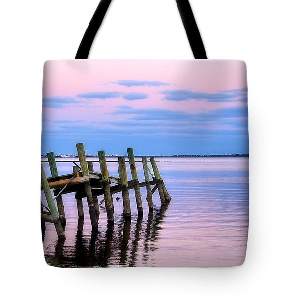 The Cove Dock Tote Bag