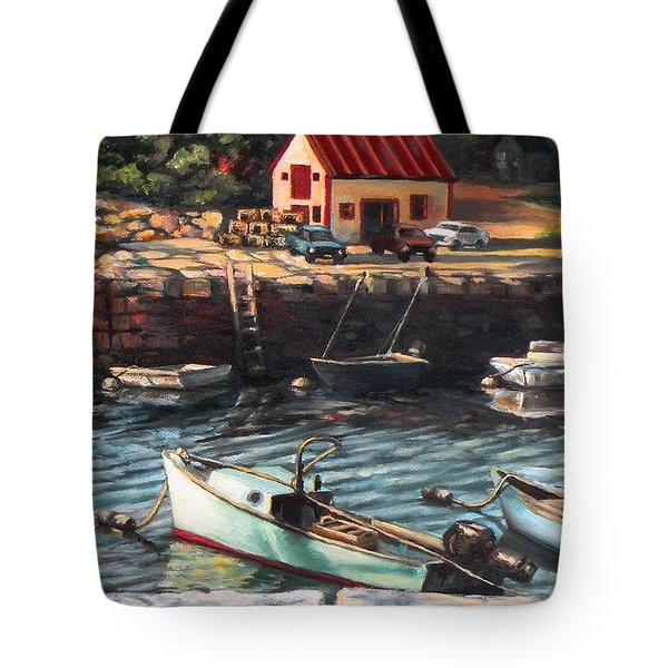 The Cove Tote Bag by Eileen Patten Oliver