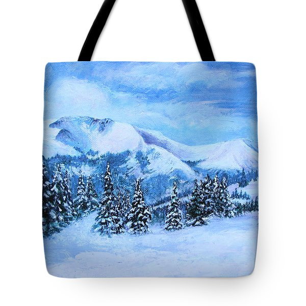 The Covering Tote Bag by Margaret Bobb