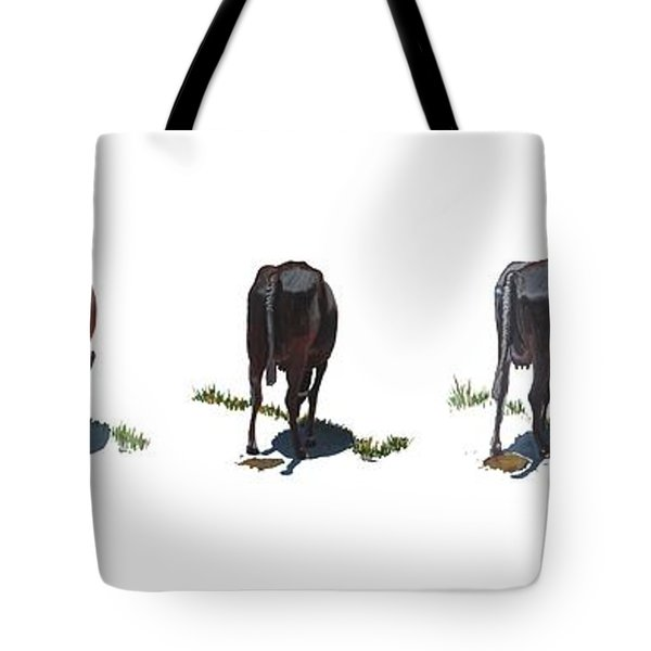 The Cows Tote Bag by Usha Shantharam