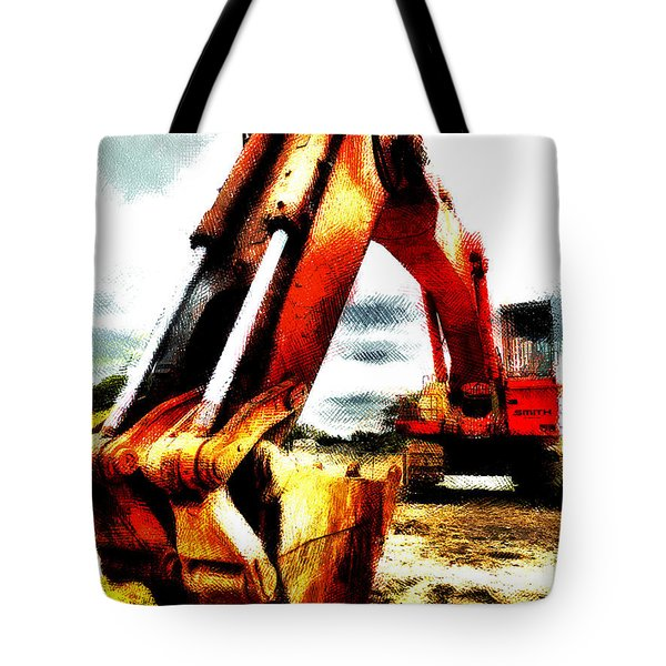 The Crab Claw Tote Bag