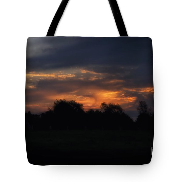 The Crack Of Dawn Tote Bag by Thomas Woolworth