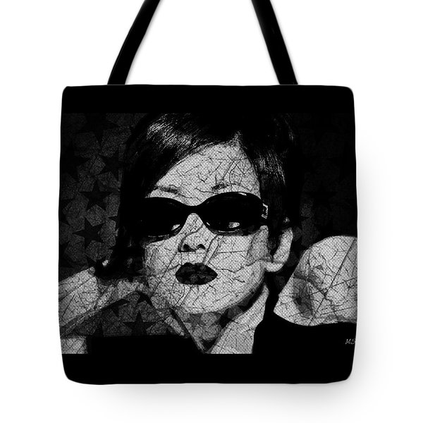 The Cracked Facade Tote Bag
