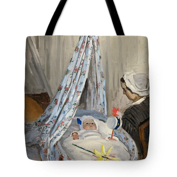 The Cradle Tote Bag by Claude Monet
