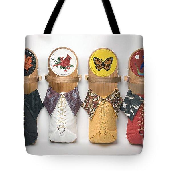 Four Seasons Cradleboards Tote Bag