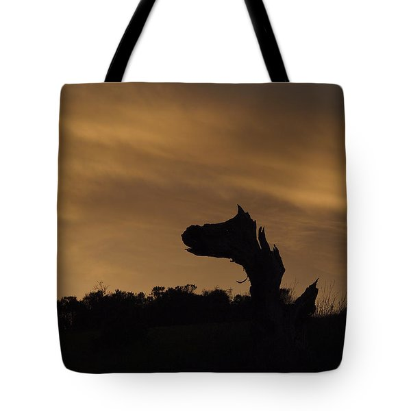 Tote Bag featuring the photograph The Creature by Priya Ghose