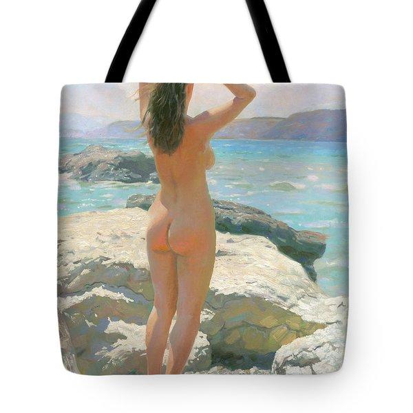 The Crimea. The Lisya Bay 2012 Tote Bag