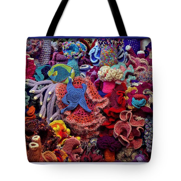 The Crochet Coral Reef Tote Bag