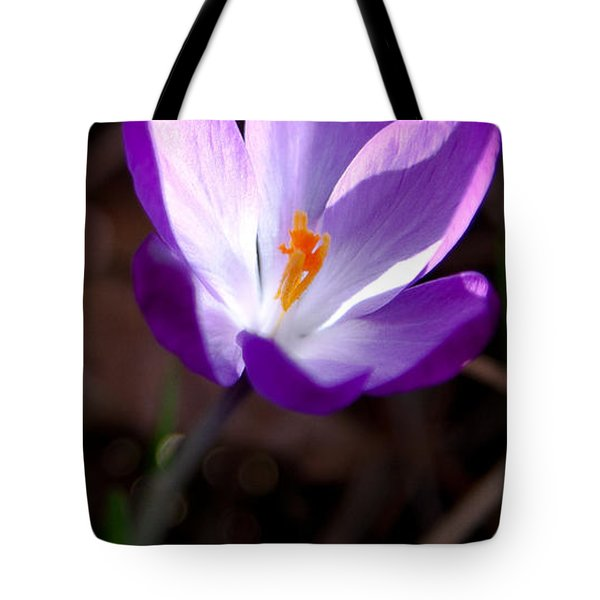 The Crocus Tote Bag by David Patterson