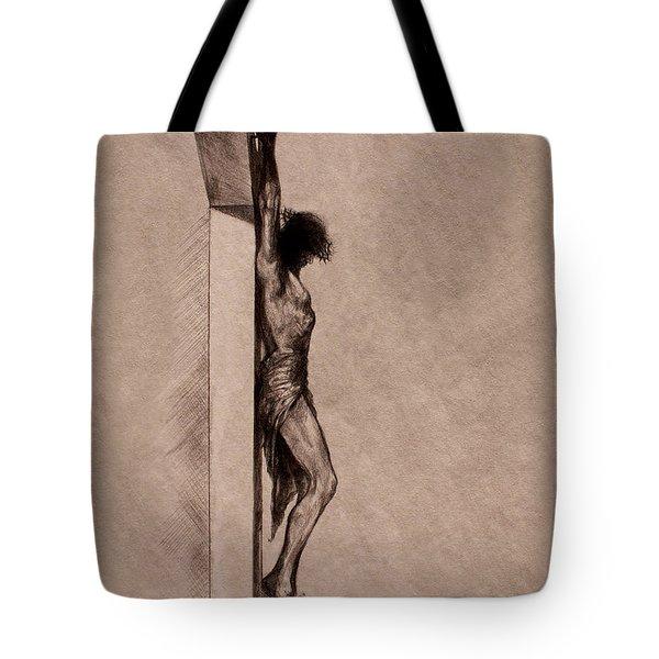 The Cross 2 Tote Bag by Derrick Higgins