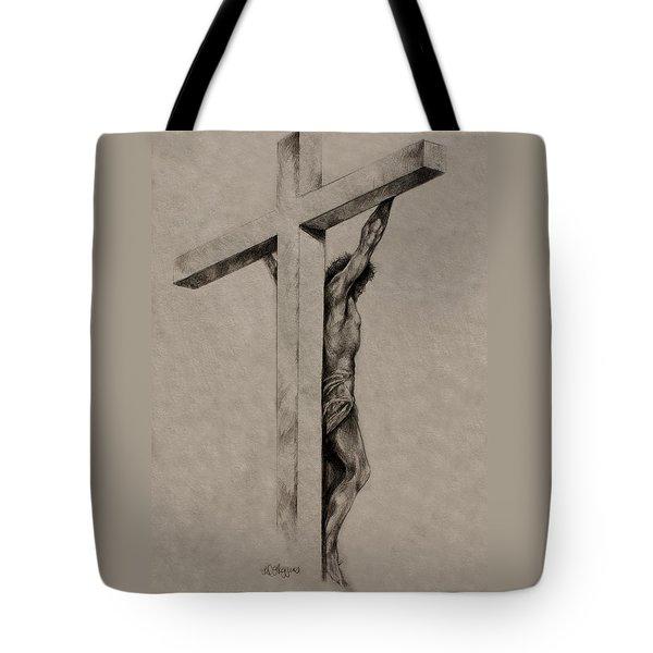 The Cross Tote Bag by Derrick Higgins