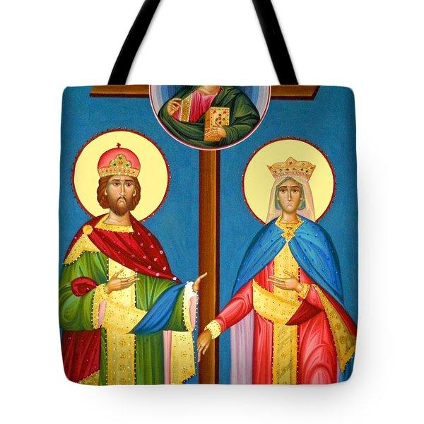 The Cross Icon Tote Bag