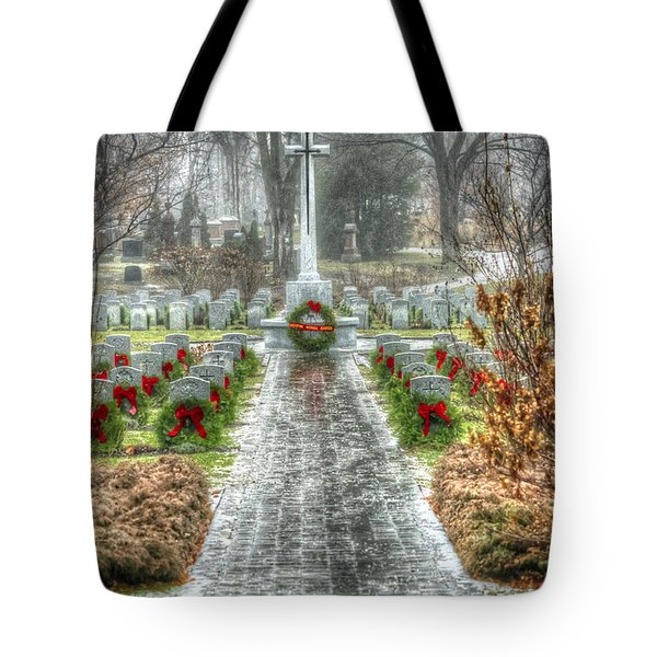The Cross Of Sacrifice Tote Bag