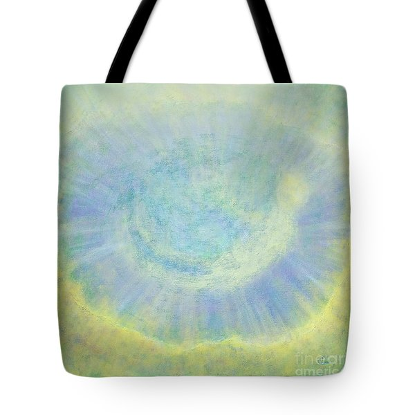 Tote Bag featuring the painting The Crossing by Cindy Lee Longhini