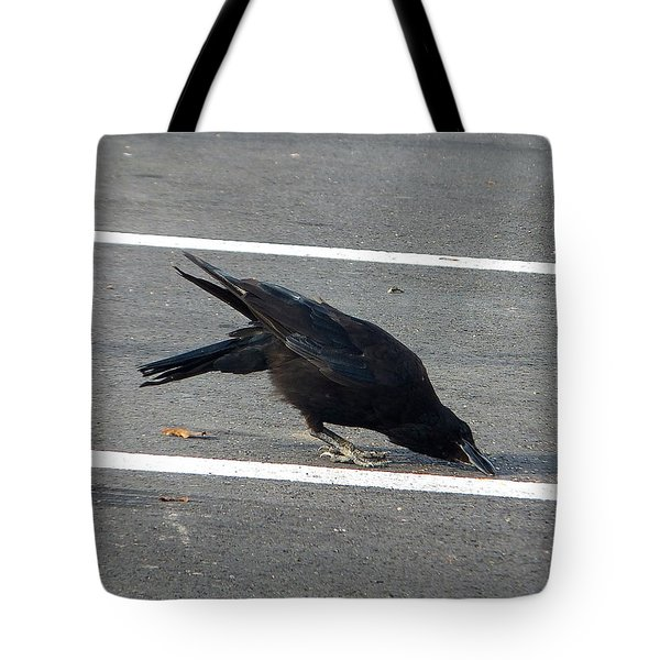 The Crow And The Seed Tote Bag