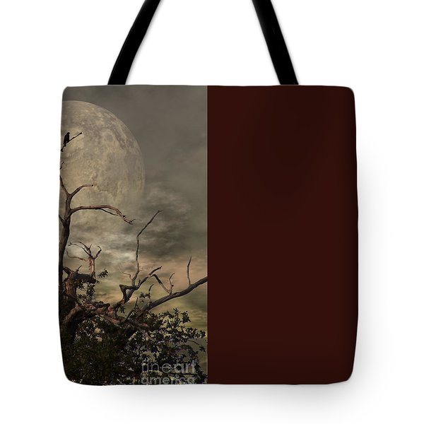 The Crow Tree Tote Bag