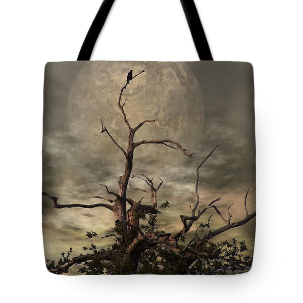The Crow Tree Tote Bag