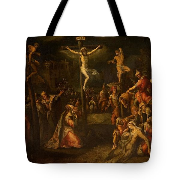 The Crucifixion, 1550?-1700 Tote Bag