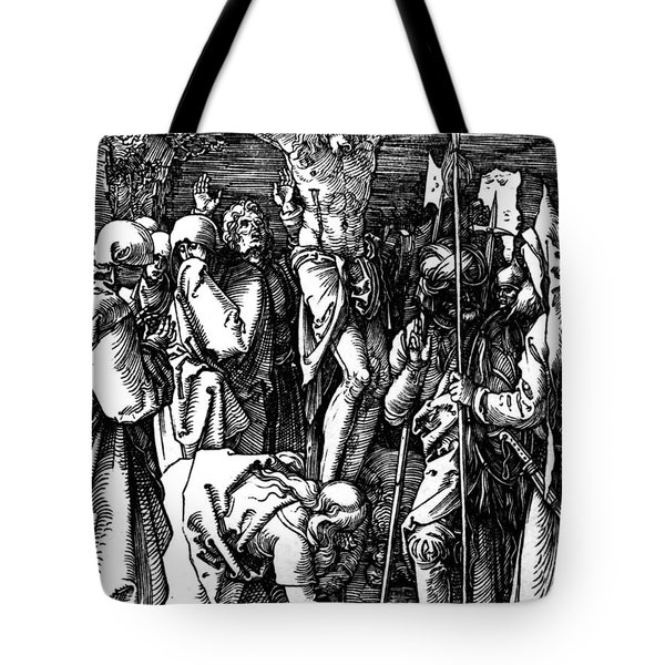 The Crucifixion Tote Bag by Albrecht Durer