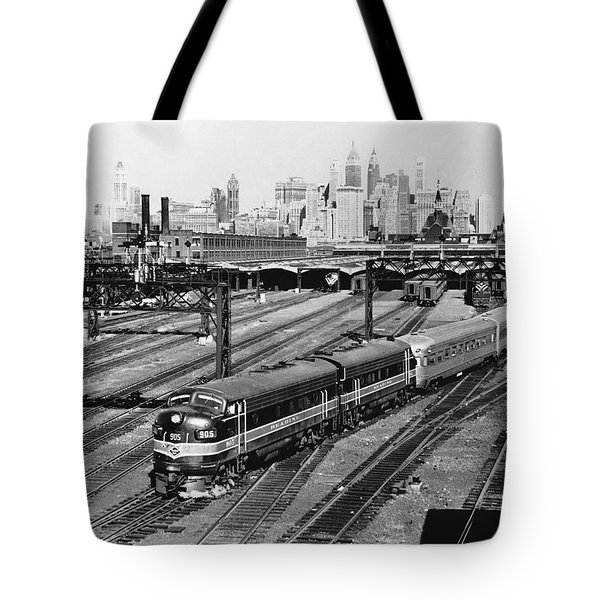 The Crusader Streamliner Train Tote Bag