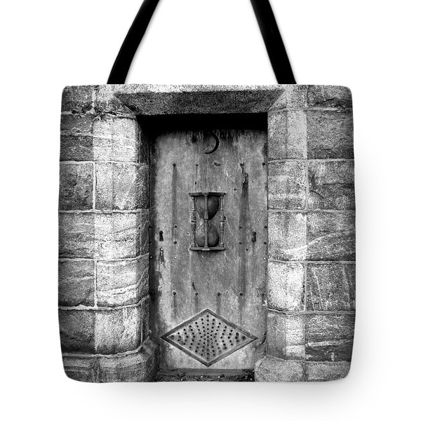 The Crypt Door Tote Bag by Avis  Noelle