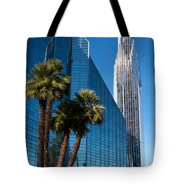 The Crystal Cathedral  Tote Bag