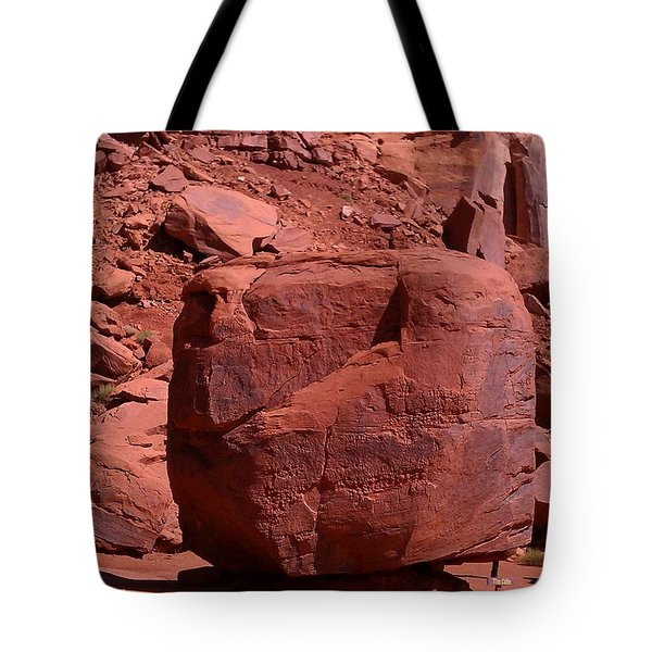 Tote Bag featuring the photograph The Cube by Fortunate Findings Shirley Dickerson