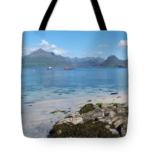 Tote Bag featuring the photograph The Cuillins - Isle Of Skye by Phil Banks