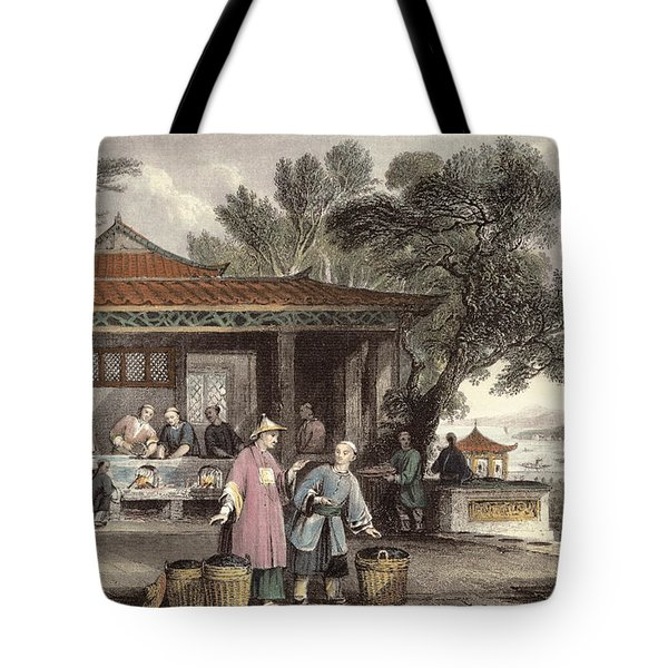 The Culture And Preparation Of Tea Tote Bag