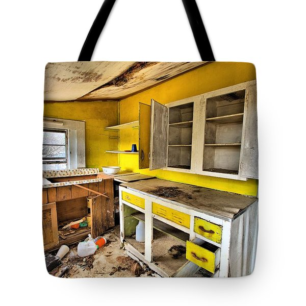 The Cupboard Is Bare Tote Bag