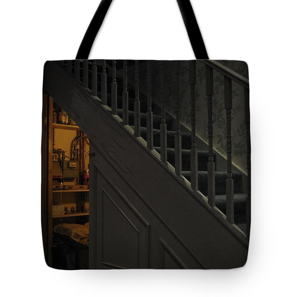 The Cupboard Under The Stairs Tote Bag