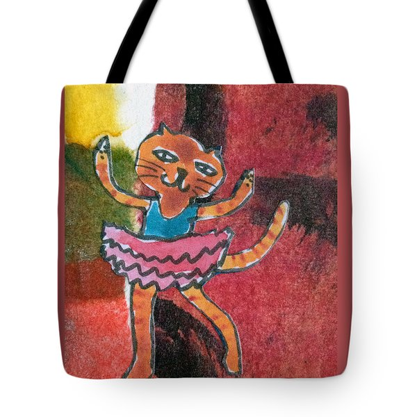 The Curtain Call Tote Bag by Catherine Redmayne