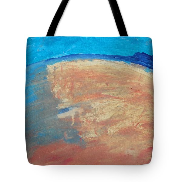 The Curve Of The Beach Tote Bag by Lenore Senior