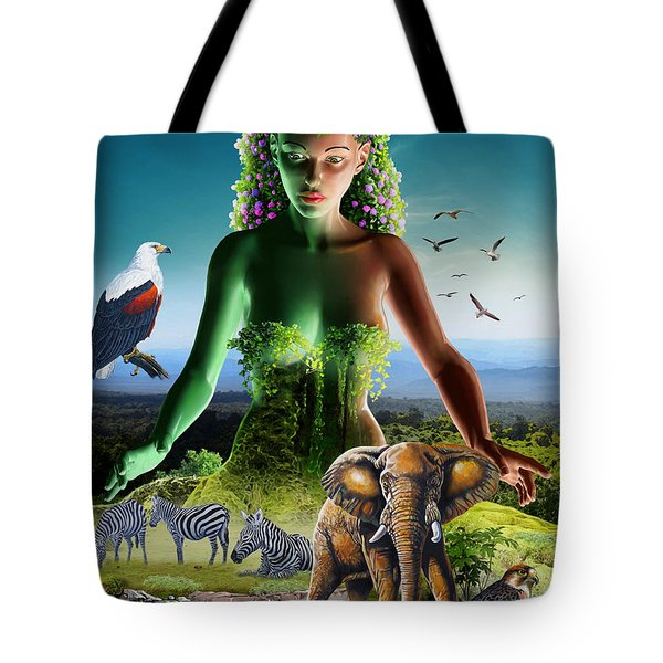 The Custodian Tote Bag