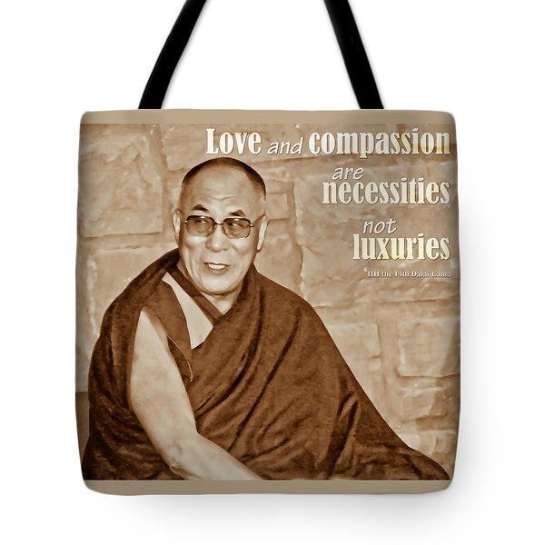 The Dalai Lama Tote Bag