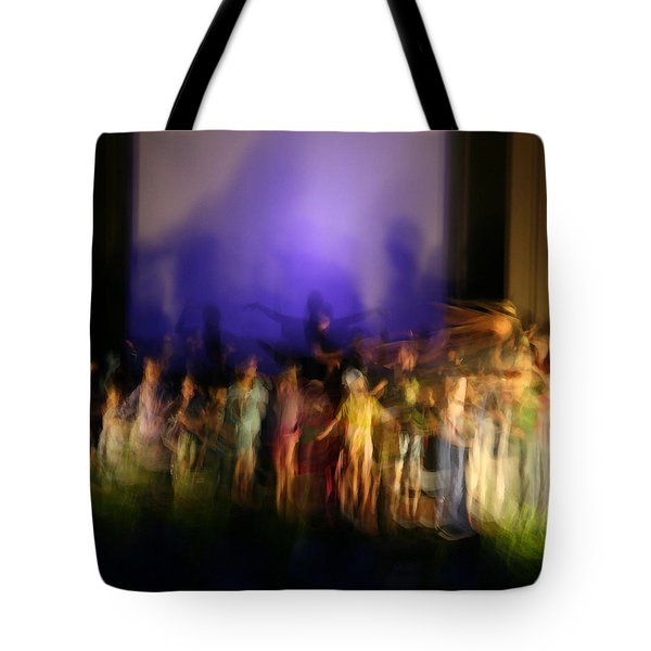 The Dance Tote Bag by John Bushnell