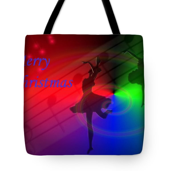 The Dance - Merry Christmas Tote Bag